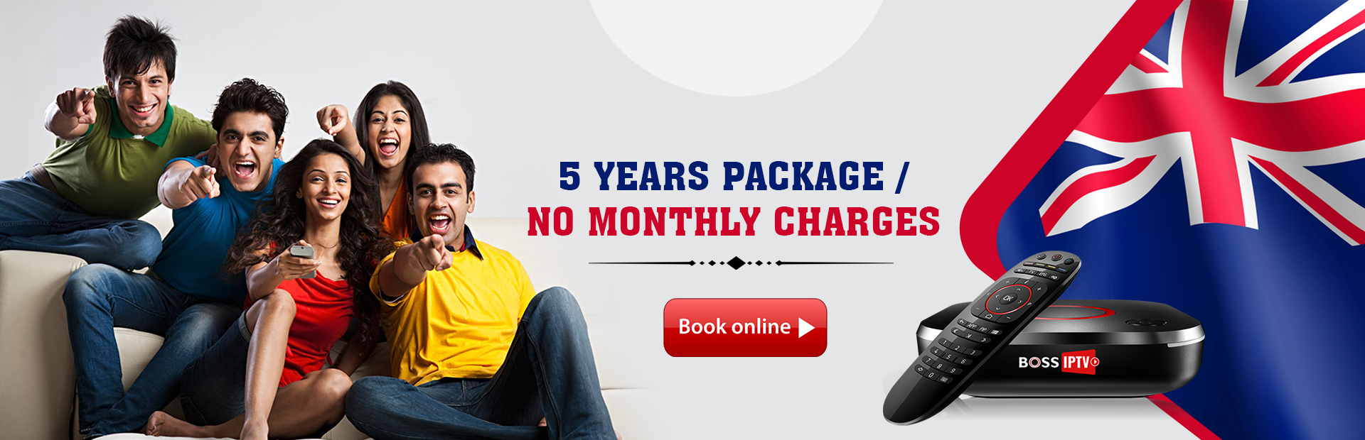 5 Years Package / No Monthly Charges